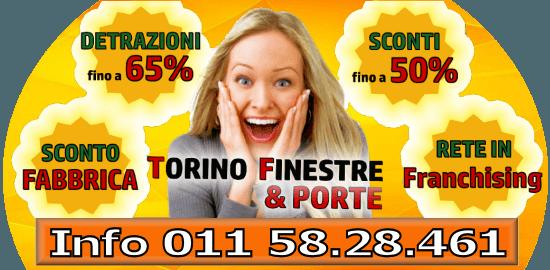 Torino finestre infissi porte interne blindate e for Offerte infissi