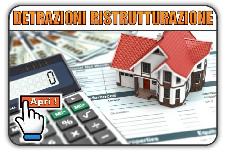 Detrazioni fiscali ristrutturazione edilizia e for Capienza irpef per detrazioni