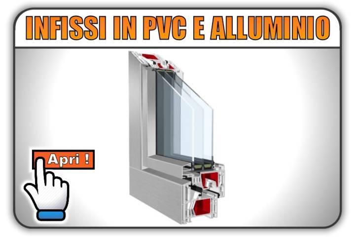 Infissi in pvc e alluminio aluclip offerte e prezzi torino for Infissi in alluminio prezzi
