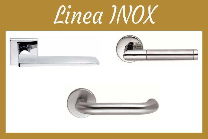 Maniglie di design inox porte interne torino prezzi e - Maniglie finestre prezzi ...