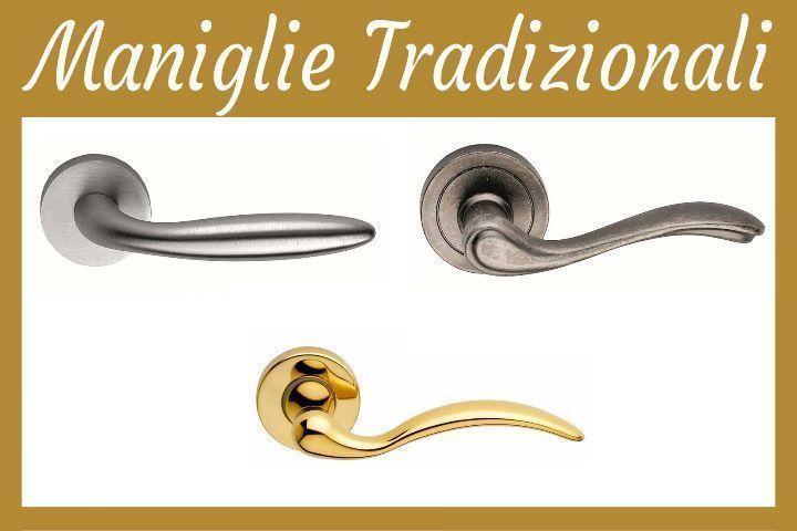 Maniglie di Design Tradizionali Porte Interne Torino | Prezzi e ...