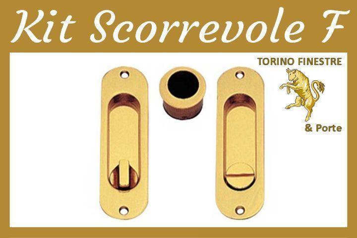 Frascio Kit Scorrevoli Modello F - Maniglie Porte Interne Torino ...