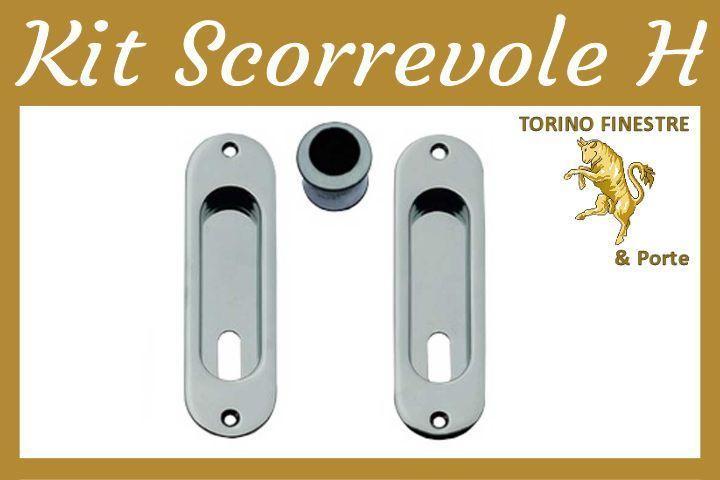 Frascio Kit Scorrevoli Modello H - Maniglie Porte Interne Torino ...