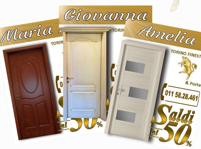 Porte Interne in Legno Massello Economiche Torino Offerte, Prezzi ...