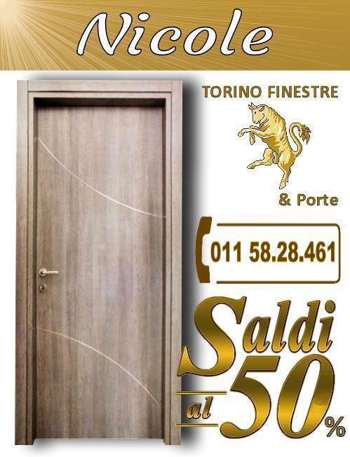 Nicole Offerte Porta Interna con Inserti Prezzi Online | Porte ...