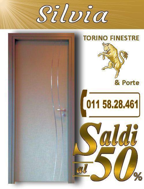 Silvia Offerte Porta Interna con Inserti Prezzi Online | Porte ...