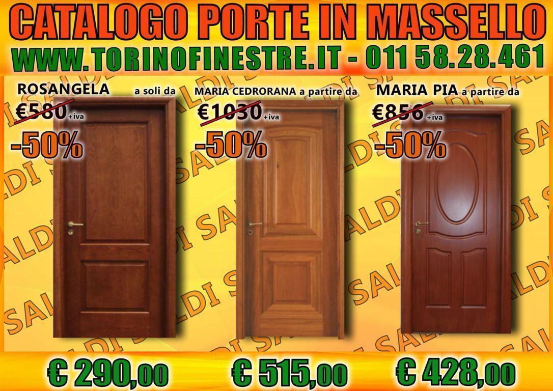 Porte In Legno Massello Prezzi : Catalogo porte interne torino pdf con prezzi e offerte online