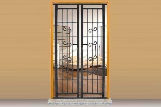 Grate di sicurezza e inferriate per porte e finestre store torino finestre - Capottina parapioggia per porte e finestre ...