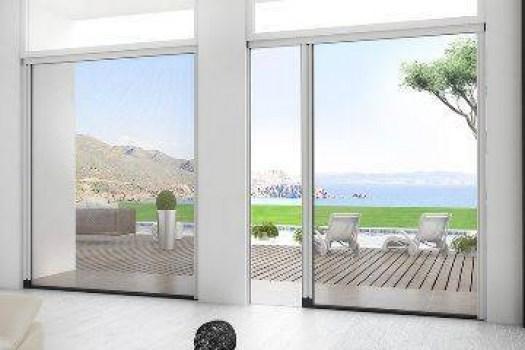 Zanzariere e teli oscuranti per finestre e porte finestre - Zanzariere per porte finestre prezzi ...