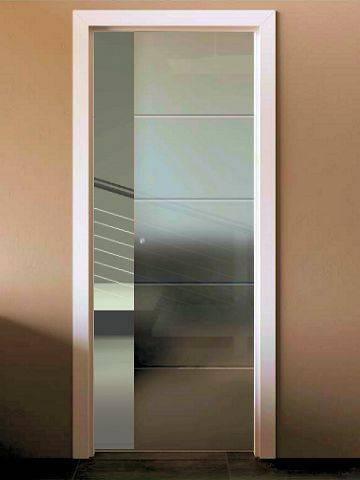 Porte scorrevoli in cristallo prezzi Nice Porta in vetro economica ...