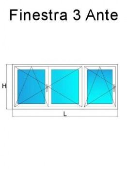 Finestre in pvc su misura con offerte a prezzi di fabbrica online - Offerte finestre in pvc ...