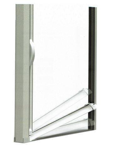 Zanzariere a molla con guida stondata per porte finestre con offerte ...