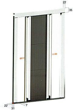 Zanzariere Plissettate Reversibili per porte finestre prezzi online