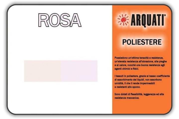 Catalogo tessuti rosa in poliestere arquati tende da for Rosa dei mobili torino