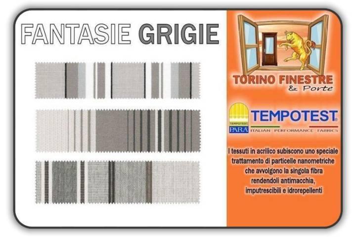 Tessuti Tempotest in Acrilico Grigi   Tende da Sole Torino
