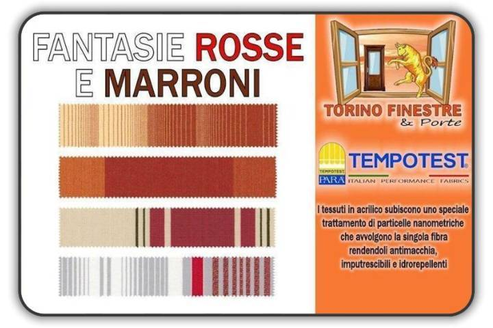 tempotest fantasie rosse marroni