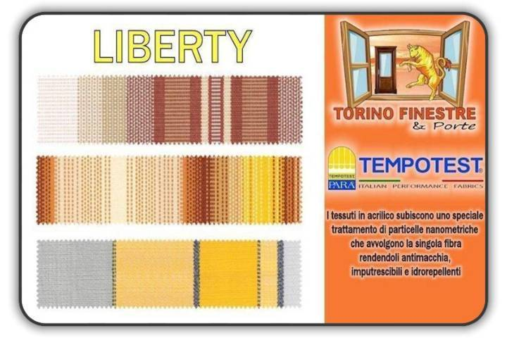 Tessuti Tempotest in Acrilico Liberty | Tende da Sole Torino