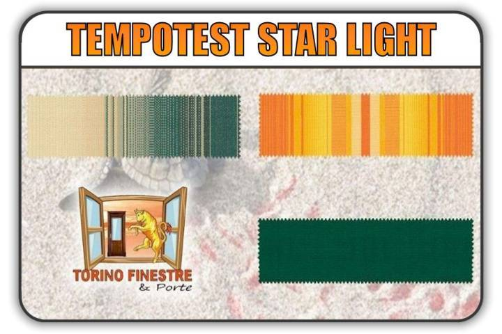 Tessuti Tempotest StarLight in PET | Tende da Sole Torino