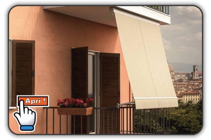 Tende Da Sole Per Balcone : Tenda a caduta modello firenze tende da sole torino