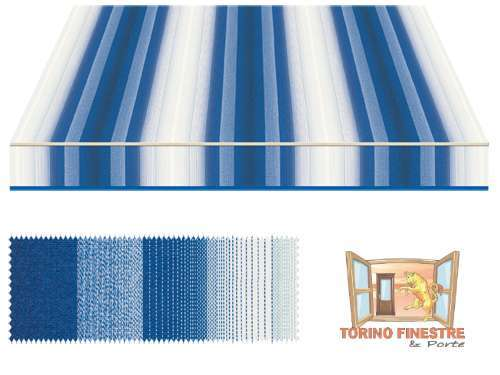 Tende da sole Tempotest Fantasia Blu 5001/13
