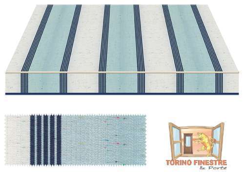 Tende da sole Tempotest Fantasia Blu 5071/84