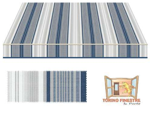 Tende da sole Tempotest Fantasia Blu 5167/24