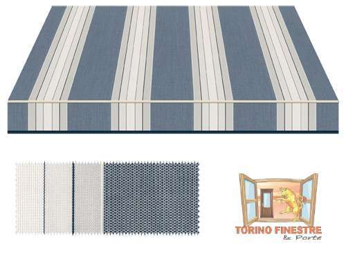 Tende da sole Tempotest Fantasia Blu 5349/75