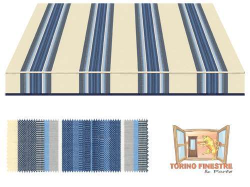 Tende da sole Tempotest Fantasia Blu 769/75