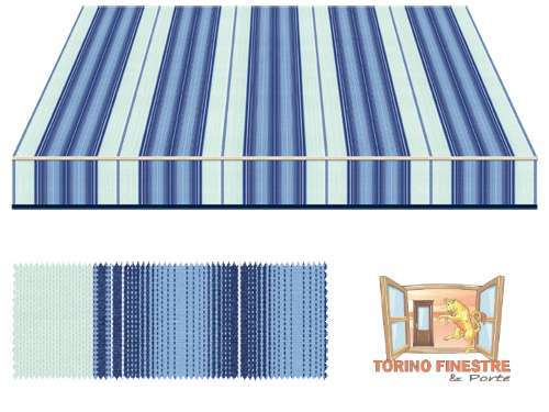 Tende da sole Tempotest Fantasia Blu 772/17