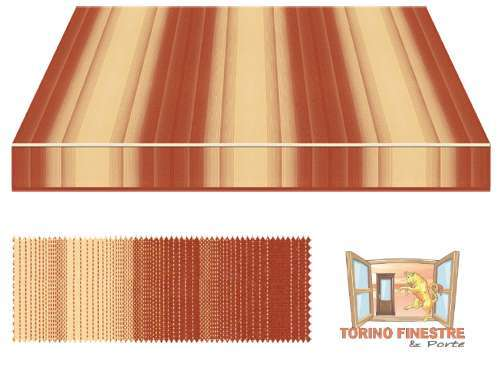 Tende da sole Tempotest Fantasia Marrone 5001/84