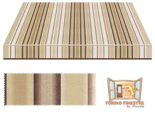 Tende da sole Tempotest Fantasia Marrone 5002/57