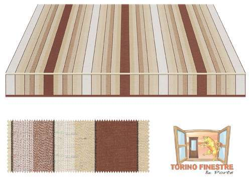 Tende da sole Tempotest Fantasia Marrone 5072/86
