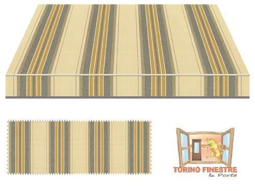 Tende da sole Tempotest Fantasia Marrone 5347/58