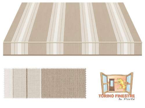 Tende da sole Tempotest Fantasia Marrone 5349/106