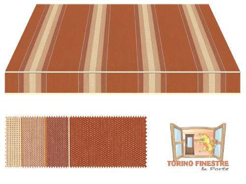 Tende da sole Tempotest Fantasia Marrone 5349/426