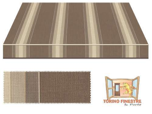 Tende da sole Tempotest Fantasia Marrone 5349/930