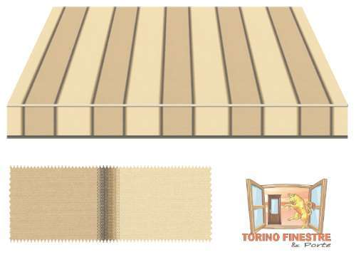 Tende da sole Tempotest Fantasia Marrone 5354/52