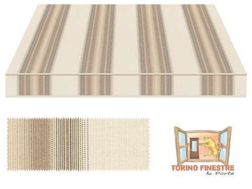 Tende da sole Tempotest Fantasia Marrone 5355/106
