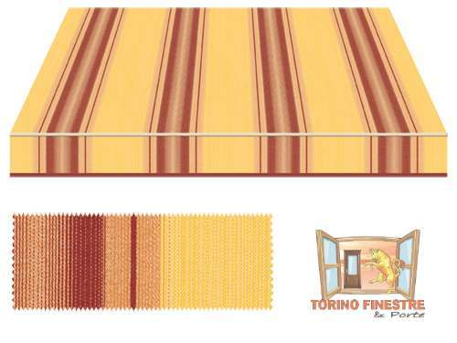 Tende da sole Tempotest Fantasia Marrone 5355/426