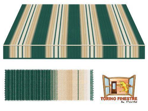 Tende da sole tempotest verdi 636 5 tessuto in acrilico for Prezzi tende da sole